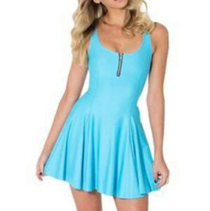 Blackmilk Size M Light Blue Evil Cheerleader Dress